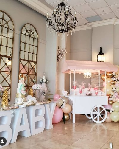 BABY table and Sweet Cart